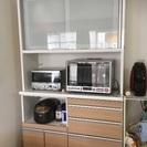 キッチン家電収納   美品  使用期間 2年半