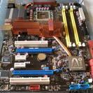 LGA775マザーボード ASUS P5E 完品 使用時間約30...