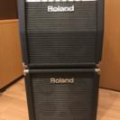 値下 ROLAND GC-405 スタック 二段セット ギターアン...