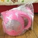 【新品未使用】電気ケトル ミッキー ピンク 可愛い♡