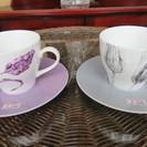 コーヒーカップ marie claire 各200円