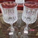 オシャレなグラス ワイングラス 各130円