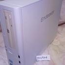 【値下げ】第3世代core i3/4GB/Win10 デスクトップ...