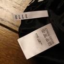 【USED(古着)】黒白ボーダースカート ELLE - 服/ファッション