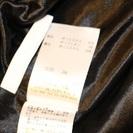 【USED(古着)】黒白ボーダースカート ELLE − 東京都
