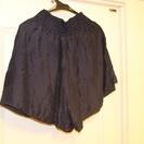 【USED(古着)】ウェストリボン付きショートパンツ(紺)SCOT CLUB - 品川区