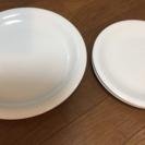 シンプル 白お皿4枚セット