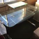 無料 パソコンデスク ガラス天板