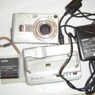 Casioデジカメ EXILIM 予備バッテリー付き ジャンクの画像