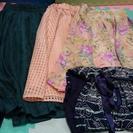 お引き取り決まりました。スカート