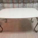 【値下】ネコ足 折りたたみテーブル
