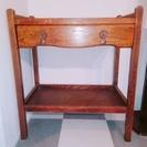 おしゃれなシェルフ/イギリス製アンティーク家具
