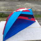 半ドーム型テント