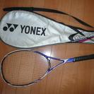 軟式テニスラケット YONEX MP370 ケース付き