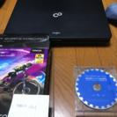 FUJITSUのノートパソコンと、動画投稿&RPGツクールセット