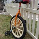お取引中★子供が使用しました❗一輪車
