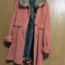 フード付きコート