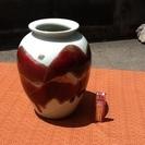 【商談中】清水焼の花瓶 花器 つぼ 感じの良い花瓶で素敵 どなた...