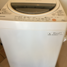 TOSHIBA 全自動洗濯機 AW-60GL  6.0kg