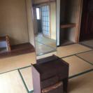【取り引き中】鎌倉彫の鏡台/ドレッサー