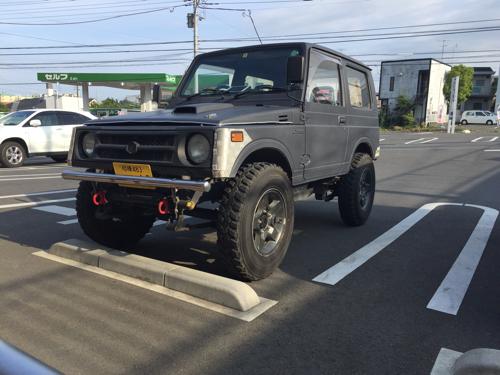 ジムニーJA11 クロカン 車検有 (S.S) 海老名のジムニーの中古車