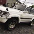 【80ランクル VXリミテッド】 4WD 5速MT 3インチリフ...