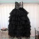 ウェディングドレス(カラードレス)<ブラック>
