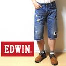 EDWIN エドウィン 503 BLUE TRIP W28 ヒゲ...