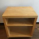 IKEA【廃盤商品】キャスター付き木製棚