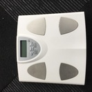 体組成計ヘルスメーター⚖&OMRON製体脂肪計セット
