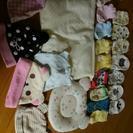 ベビーミトン、靴下、枕、帽子set