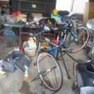 自転車のパンク修理、点検、調整