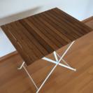 オシャレなテーブルを格安で(折り畳み可)☆ベランダや庭にも最適☆