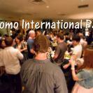 浜松町 リバーサイドテラスでBBQ料理を楽しむGaitomo国際...