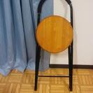 折りたたみ式椅子 2脚 取りにこられる方0円