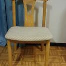 椅子 2脚 取りにこられる方0円の画像