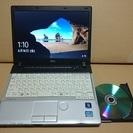 SSD256G 小型DVD搭載ノート 富士通P771 Corei...