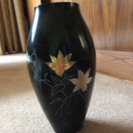 青銅花瓶  佐野宏行作