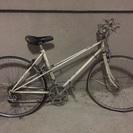 白い自転車 ジャンク品