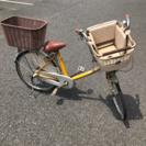 マルイシ★フラッカーズ コモ★子供乗せ自転車★壌渡証明あり