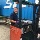 リユース品、不用品の買取回収、出荷準備