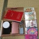 3DS本体ピンク&充電器&DSソフトあつめてカービイ マリ…
