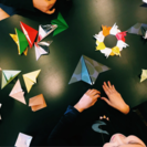 折り紙レッスン大人も子どもも楽しめる吊るし飾り作り - 教室・スクール