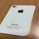 [ジャンク]Apple アップル iPhone4s ホワイト