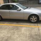 車検1年付き シルバー  S500ベンツ - 和泉市