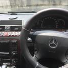 車検1年付き シルバー  S500ベンツ - 中古車