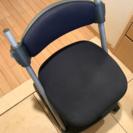 差し上げます・¥0【メーカー不詳】【型番不詳】学習机用椅子