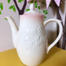 アフタヌーンティー ティーポット afternoon tea 花