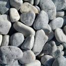 ■■■【北九建材】(中)石灰石ジャリ(玉砂利)007番  配達販...