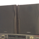 AIWA 木製スピーカーの画像